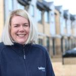 Jayne Adamson at believe housing receives MBE