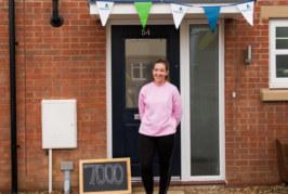 Hightown delivers 7,000th affordable home at Oaklands Grange, St Albans