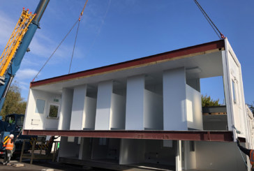 Contract to provide modular buildings for 25 COVID-19 testing sites