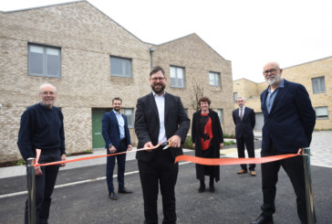 Milestone as Cambridge Investment Partnership hands over its first brand new council homes at Ironworks, Mill Road