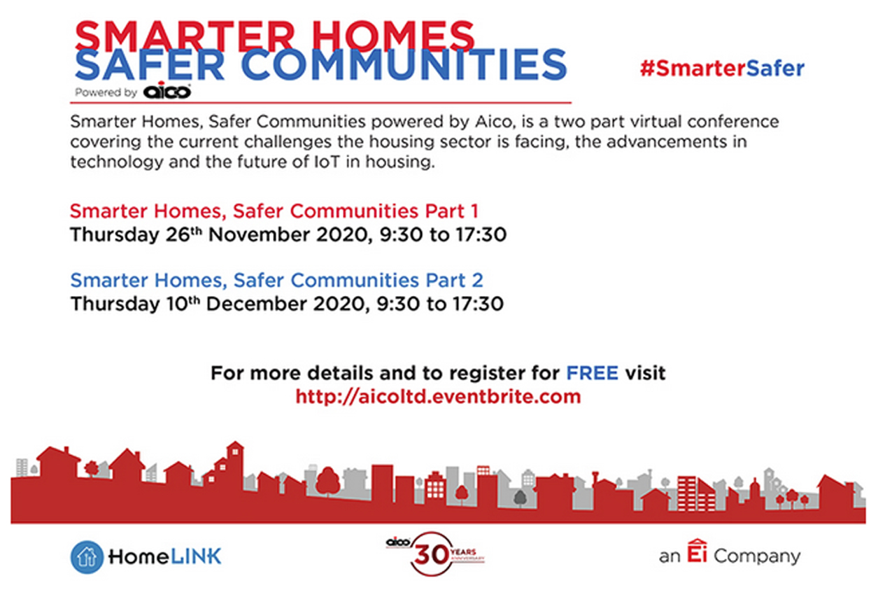 Aico launch Smarter Homes, Safer Communities virtual conference