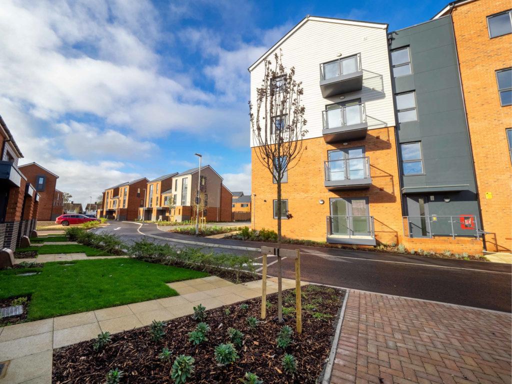 Dacorum Borough Council's new housing development in Hemel Hempstead