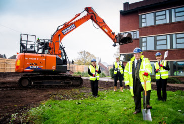 Construction now underway at Codsall Community Hub