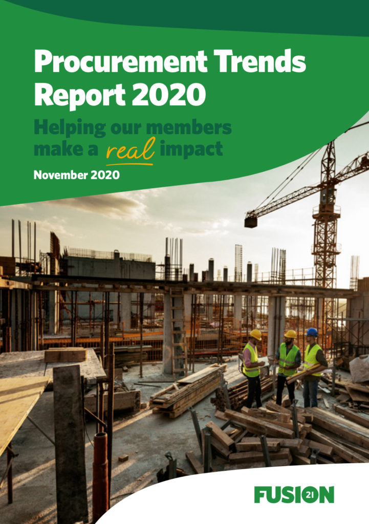 Social value through procurement set to aid local social and economic recovery, finds Fusion21