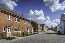 Taylor Lane Timber Frame aids fast-track completion of service family homes