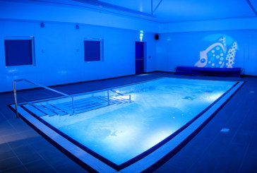 Brand-new hydrotherapy pool opens at Delamere School
