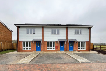 Dacorum unveils first new council homes of 2021
