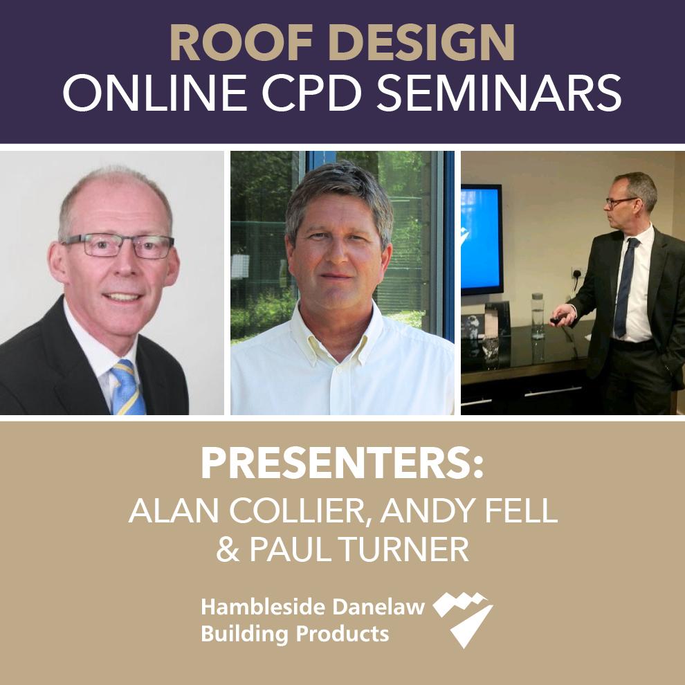 Hambleside Danelaw presents its Roof Design online CPD seminars