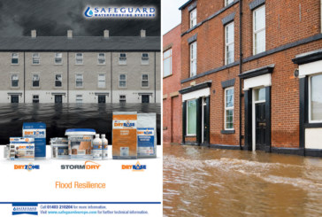 Safeguard Europe designs in flood resilience and resistance