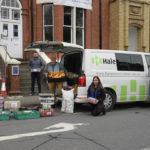 New housing development donates 2000kg of food to Llandrindod Food Bank