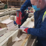 Training for Stonewater's pilot with Beattie Passive homes is underway