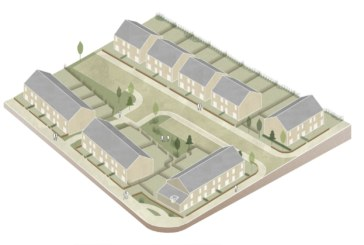 Robertson Partnership Homes begins work on new homes at Rothes Drive for Maryhill Housing