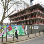 Mural design unveiled on hoarding at Chippenham Gardens