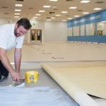 F. Ball & Co | Textbook flooring installations