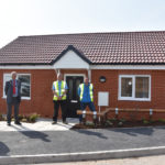 Handover marks first property in £36m council housebuilding scheme