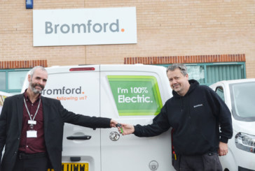 Housing association's first electric vans hit the road