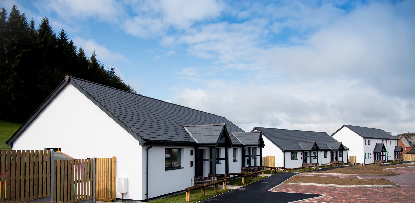 First social housing Passivhaus scheme handed over in Powys