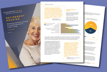 White Paper: Data shows disconnect between retirement housing offering and public perception