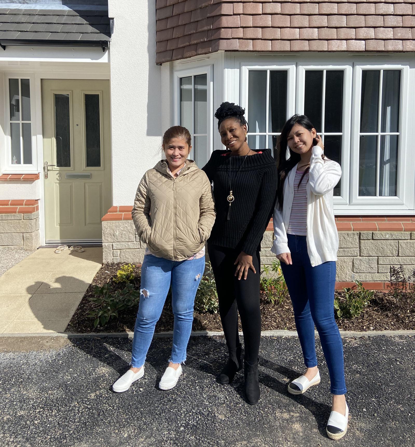 North Wales housing association helps home Betsi Cadwaladr overseas nursing staff