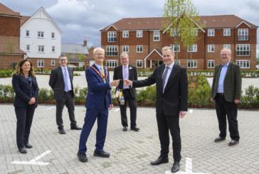 Affordable homes completed at Edenbrook Village