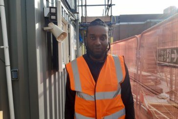 Construction has given Joseph a second chance