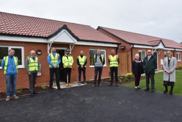 Latest new homes completed as part of £36m project