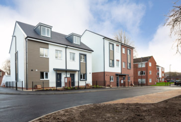 Families settle into towns first modular build homes