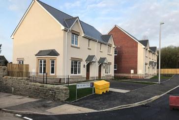 Work completed on Heol Y Cyw development, Bridgend
