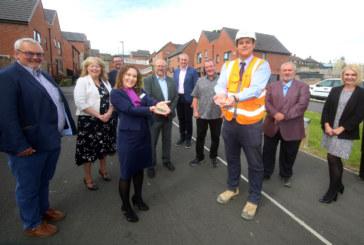 Partnership celebrates big regeneration milestone for Sheffield