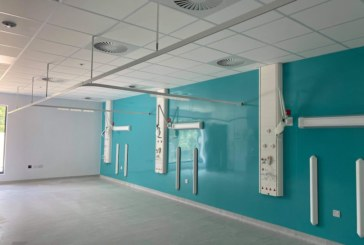 Darwin Group delivers new decant ward at the West Suffolk Hospital