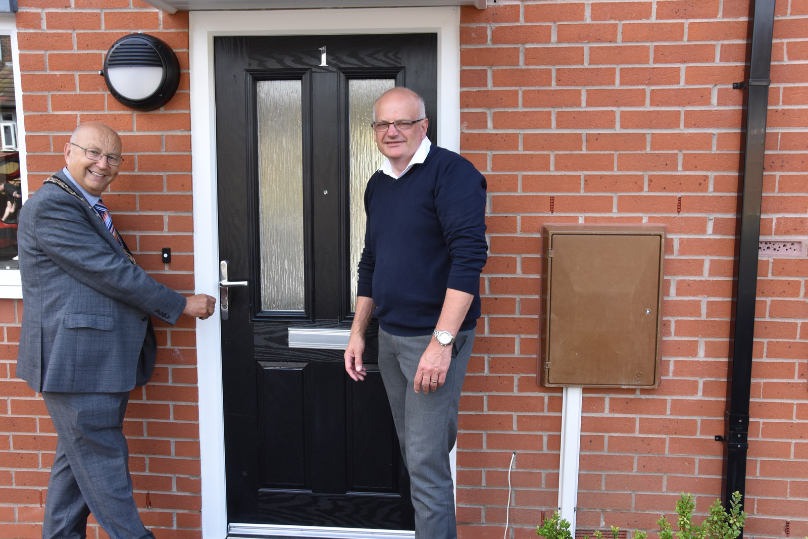 Five more new properties completed in multi-million pound council housebuilding scheme