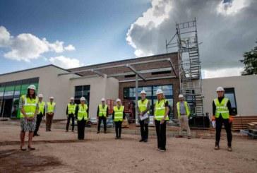 Works on £3.4m Staffordshire healthcare facility progress