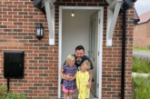 Local family moves into Adra's new affordable homes development in Llay