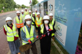 Official ground-breaking ceremony takes place at The Meadows and Buchan Street sites