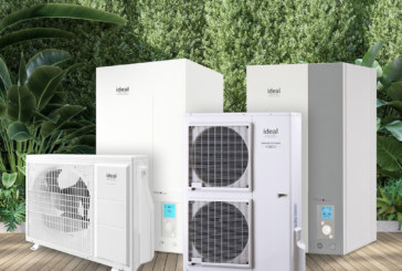 Ideal Heating launches new domestic heat pump range