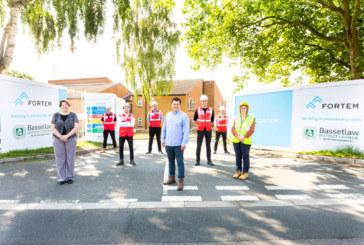 Sustainable remodelling of Larwood House begins