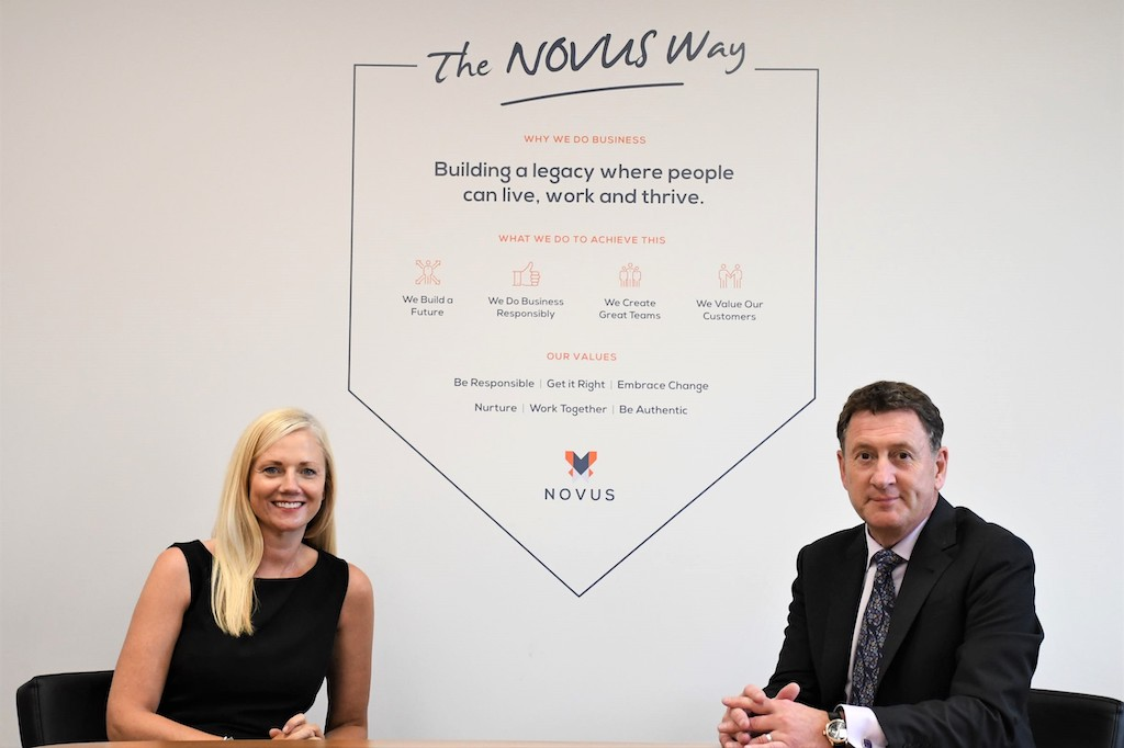 Novus streamlines services to match ambitious five-year growth plan