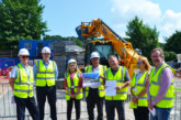 MP Mike Amesbury visits Helsby affordable homes scheme
