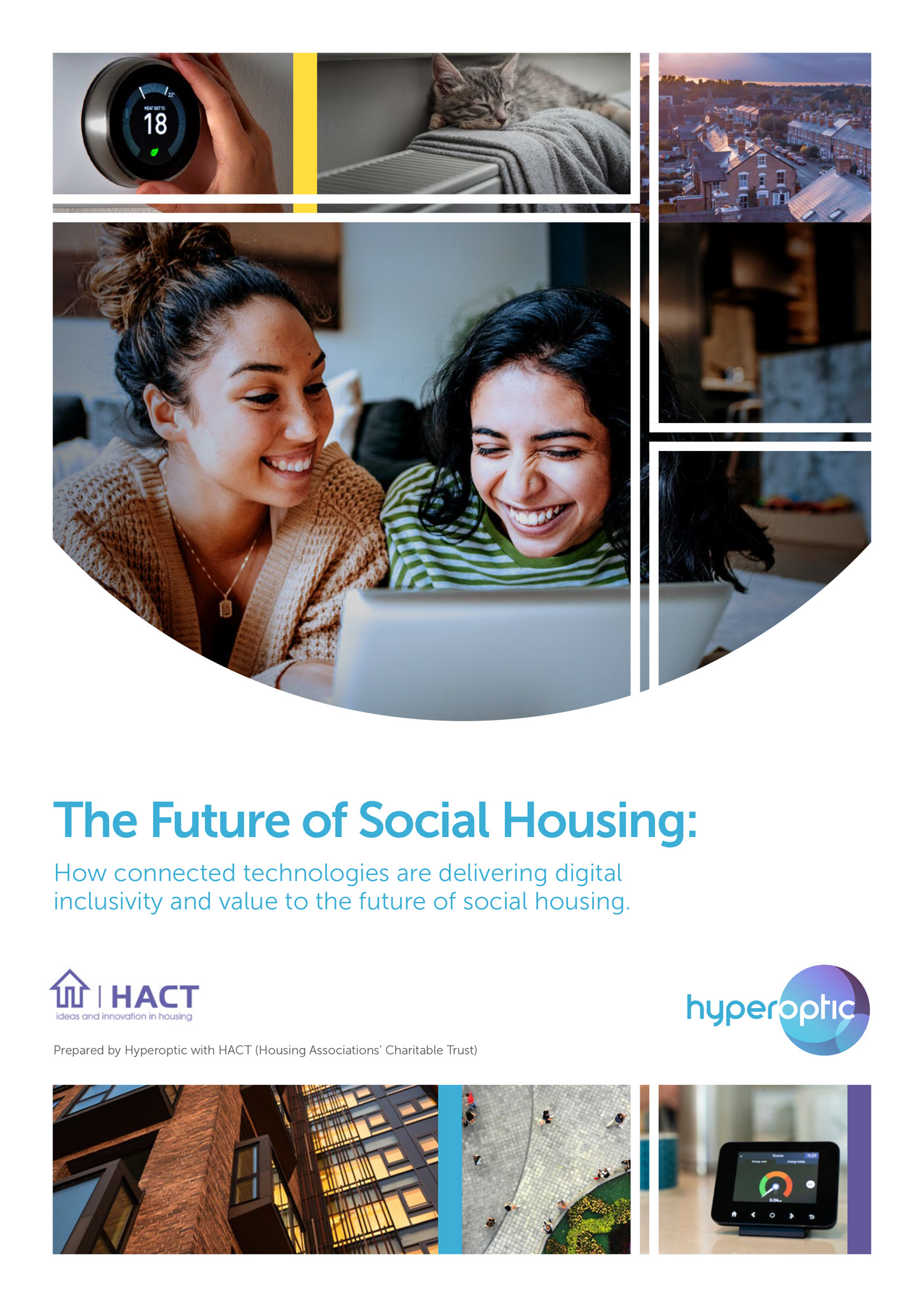 Technology enabling social housing providers to refocus back to the future