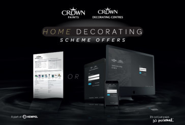 Crown Paints showcases its new digital home decorating pack ordering portal for RSLs