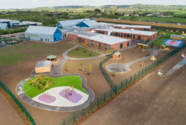 Construction completes on new £18m SEN school in Somerset