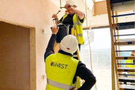 The iMist water mist fire suppression system awarded LABSS Registered Details certification in Scotland