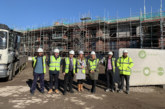 Andy Carter MP visits affordable homes scheme in Latchford